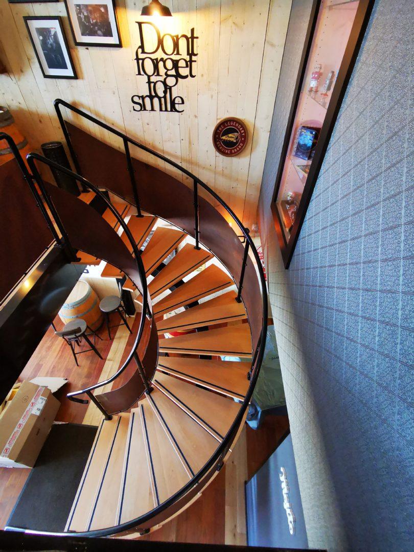 Escalier Bar 2 - Accueil