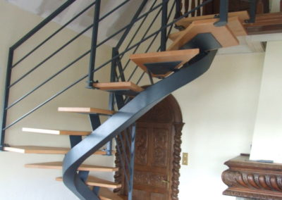 Escalier TroisQuart tournant - Escaliers