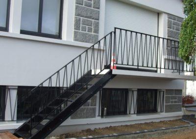 Escalier metal - Escaliers