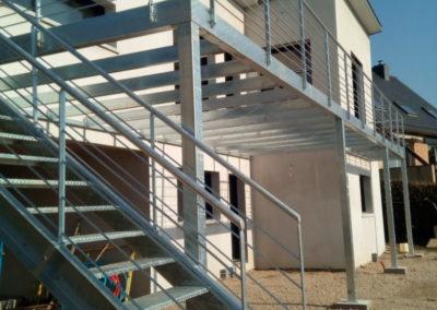 Escalier terrasse - Escaliers