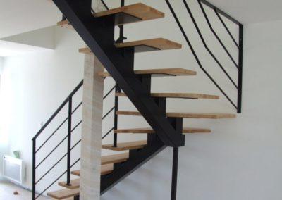 escalier jumeaux separes lesneven 4 - Escaliers