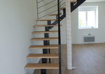 escalier jumeaux separes lesneven - Escaliers