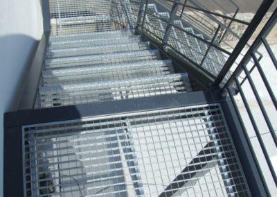 escalier passerelle lesneven 3 - Escaliers