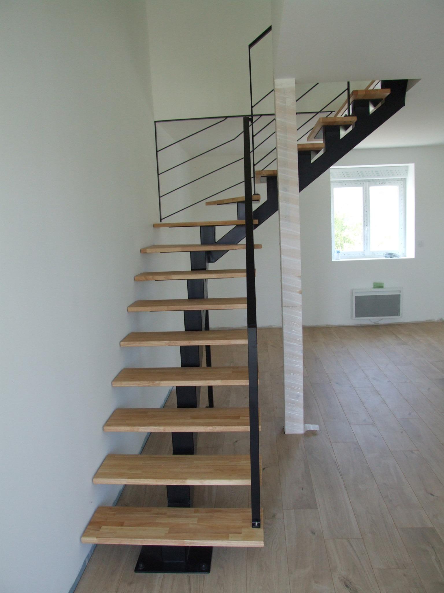 Escaliers jumeaux séparés :